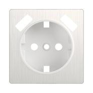 Накладка для USB розетки, WL13-USB-CP - перламутровый рифленый, Werkel
