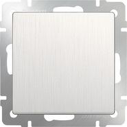 Выключатель 1 кл, WL13-SW-1G - перламутровый рифленый, Werkel
