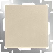 Выключатель проходной 1 кл, WL11-SW-1G-2W - шампань, Werkel