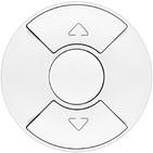 Legrand Celiane Кнопочный выключатель для рольставней/штор/тента (белый)