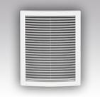 Решетка вентиляционная цилиндрическая с сеткой 340х340