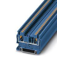 Клемма самозажимная 0,14-4мм2 синяя (5,2мм) Phoenix Contact PT2,5