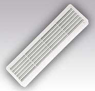 Решетка вентиляционная переточная 450х131, комплект 2 шт.