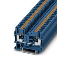 Клемма самозажимная 0,5-10мм2 синяя (8,2мм) Phoenix Contact PT6