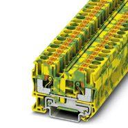 Клемма самозажимная 0,5-10мм2 желто-зелёная (8,2мм) Phoenix Contact PT6
