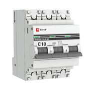 Автоматический выключатель 3P C10 EKF PROxima ВА 47-63