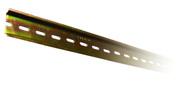 DIN-рейка перфорированная 1000 мм