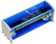 Шина на DIN-рейку в корпусе (кросс-модуль) L+PEN 2х15