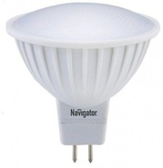 Лампа светодиодная (белый нейтральный), 3вт 230в GU5.3 3000K, Navigator (94255 NLL-MR16)