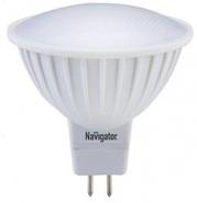 Лампа светодиодная (дневной), 3вт 230в GU5.3 6500K, Navigator (94381 NLL-MR16)