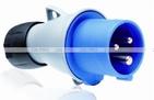 ABB Вилка кабельная 16А 2Р+E IР44 переносная 250В ICAT (216-P6)
