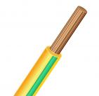 ПуГВ (ПВ-3) 1х1.5 желто-зеленый, провод силовой (ПуГВ 1х1.5 Ж/З)