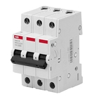 Автоматический выключатель 3P C20 ABB Basic M (BMS413C20)