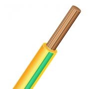 ПуГВ (ПВ-3) 1х0,5 желто-зеленый, провод силовой (ПуГВ 1х0,5 Ж/З)