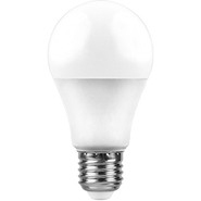 Лампа светодиодная 7W, 230V, E27, 2700K, A60, LB-91 - белый, Feron