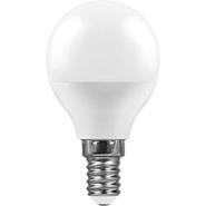 Лампа светодиодная 7W, 230V, E14, 4000K, G45, LB-95 - белый, Feron