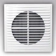 2121П, Решетка вентиляционная приторно-вытяжная АБС208х208 - Эра