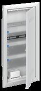Шкаф мультимедийный с дверью с вентиляционными отверстиями и DIN-рейкой UK640MV (4 ряда) - ABB