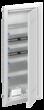 Шкаф мультимедийный с дверью с вентиляционными отверстиями и DIN-рейкой UK650MV (5 рядов) - ABB
