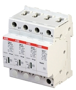 Ограничитель перенапряжения OVR T2 3N 40 275P ABB (2CTB803953R1100)
