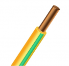 ПуВ (ПВ-1) 1x6 желто-зеленый, провод силовой (ПуВ 1x6 Ж/З)
