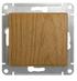 Переключатель проходной одноклавишный в рамку, дуб, Schneider Electric GLOSSA (GSL000561)