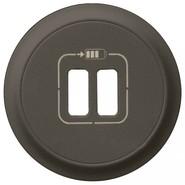 Legrand Celiane Лицевая панель USB-розетки (графит)