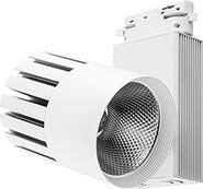 Трековый светильник, 30W, 2400 Lm, 4000К, 35 градусов, AL105 - белый, Feron