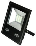 Прожектор, 30Вт, 2000Лм, 6000-6, IP65, FE-CF30LED - черный