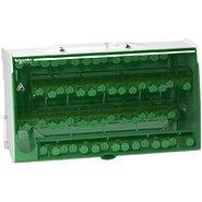 Блок распределительный винтовой (кросс-модуль) 4П 125А 60 отверстий Linergy Schneider Electric
