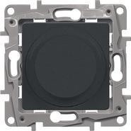 Светорегулятор поворотный,300Вт, антрацит - Legrand Etika