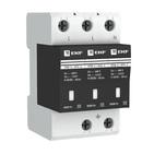 Ограничитель импульсных напряжений ОПВ-C/3P In 20кА 400В с сигн. EKF PROxima