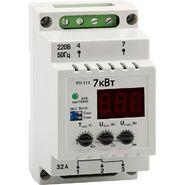 Реле напряжения РН-113 однофазное регулируемое, на DIN-рейку, 32A, Новатек-Электро (3425600113)
