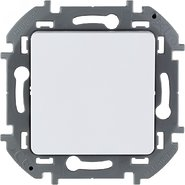Переключатель промежуточный, винтовые клеммы, 10 AX, 250 В - белый INSPIRIA 673680