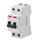 Автоматический выключатель 2P C63 АВВ Basic M (BMS412c63)