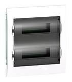 Бокс 2ряд/24мод встраиваемый с прозрачной дверцей, 2 клеммы, IP40, EASY 9 Schneider Electric (EZ9E212S2FRU)
