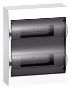 Бокс 2ряд/24мод навесной с прозрачной дверцей, 2 клеммы, IP40, EASY 9 Schneider Electric (EZ9E212S2SRU)
