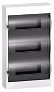 Бокс 3ряд/36мод навесной с прозрачной дверцей, 2 клеммы, IP40, EASY 9 Schneider Electric (EZ9E312S2SRU)