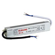 40W IP67 Трансформатор влагозащищенный 12V 160*30*20мм Eleganz (1202)