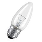40W Е27 Osram Свеча прозрачная (лампа накаливания)