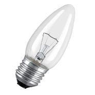 60W Е27 Osram Свеча прозрачная (лампа накаливания)
