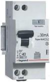Дифавтомат 1P+N 40A 30mA AC Legrand RX³
