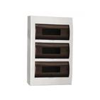 48 модулей Бокс настенного монтажа ЩРн-П-48 IP66 пластиковый белый прозрачная дверь IEK MKP73-N-48-66