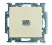Выключатель 1 кл. с подсветкой, белый, ABB Basic 55 (1012-0-2185)