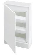 Бокс внешнего монтажа 36 модулей, белая непрозрачная дверь, с клеммами - ABB Basic E