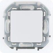 Переключатель проходной влагозащищенный, 10 AX, 250 В, IP44 - белый INSPIRIA 673670