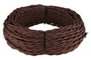 Кабель витой 2х1,5 - коричневый, Werkel Ретро
