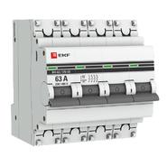 Выключатель нагрузки 4P  63А ВН-63 EKF PROxima