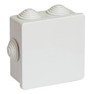 Коробка распределительная 80х80х40мм IP44 серая DKC 53700