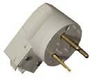 Вилка 1-но фазная для электроплиты - 32А, 2Р+Е